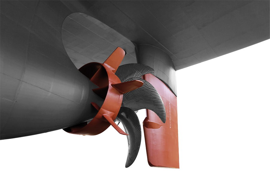 Live from SMM: New High Performance Rudders for largest