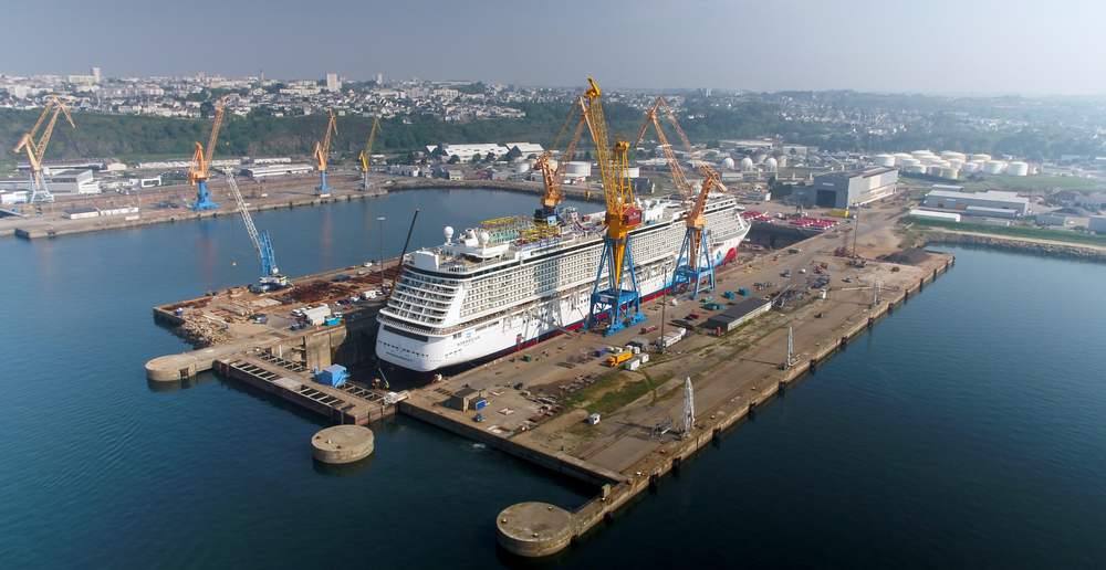norwegian breakaway maintenance completed in brestdrydock magazine